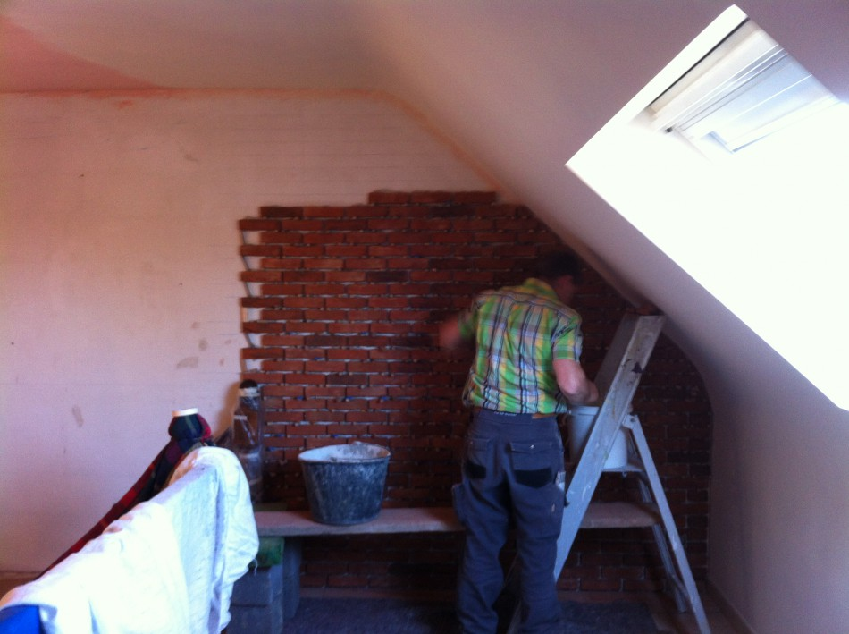 D coratiion e g i a t entreprise g n rale de - Mur en brique interieur ...