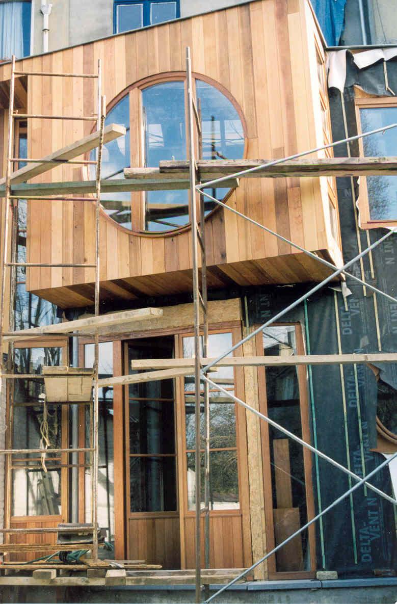Annexe bois r novation fa ade e g i a t entreprise for Entreprise renovation facade