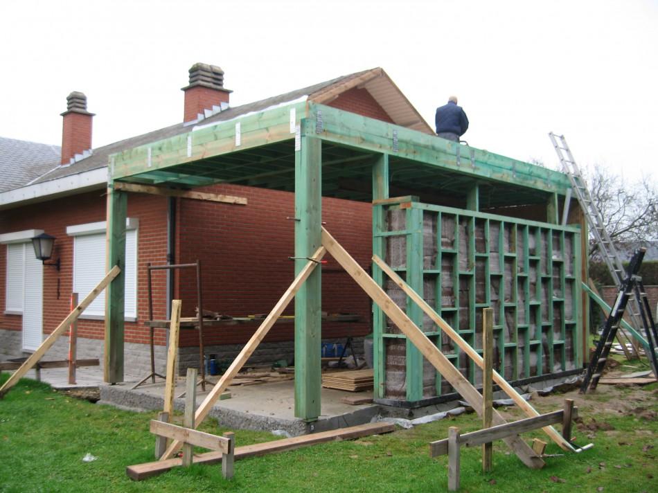 R alisation d une annexe structure en bois e g i a t entreprise g n - Anglade structure bois ...