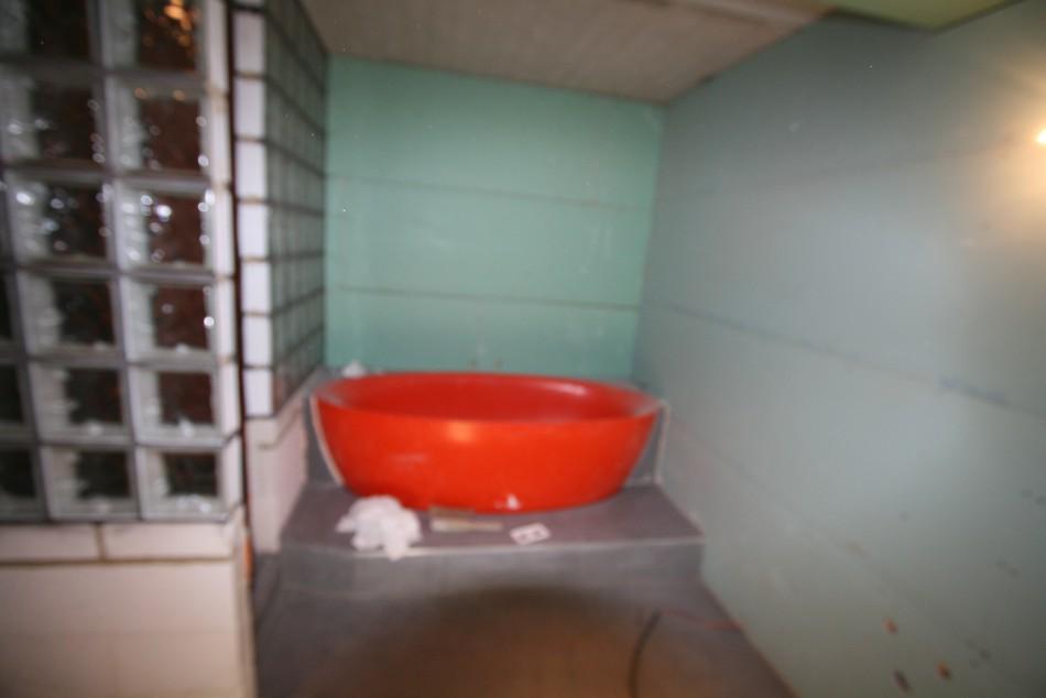 R novation partielle d une salle de bain douche italienne for Taille d une salle de bain